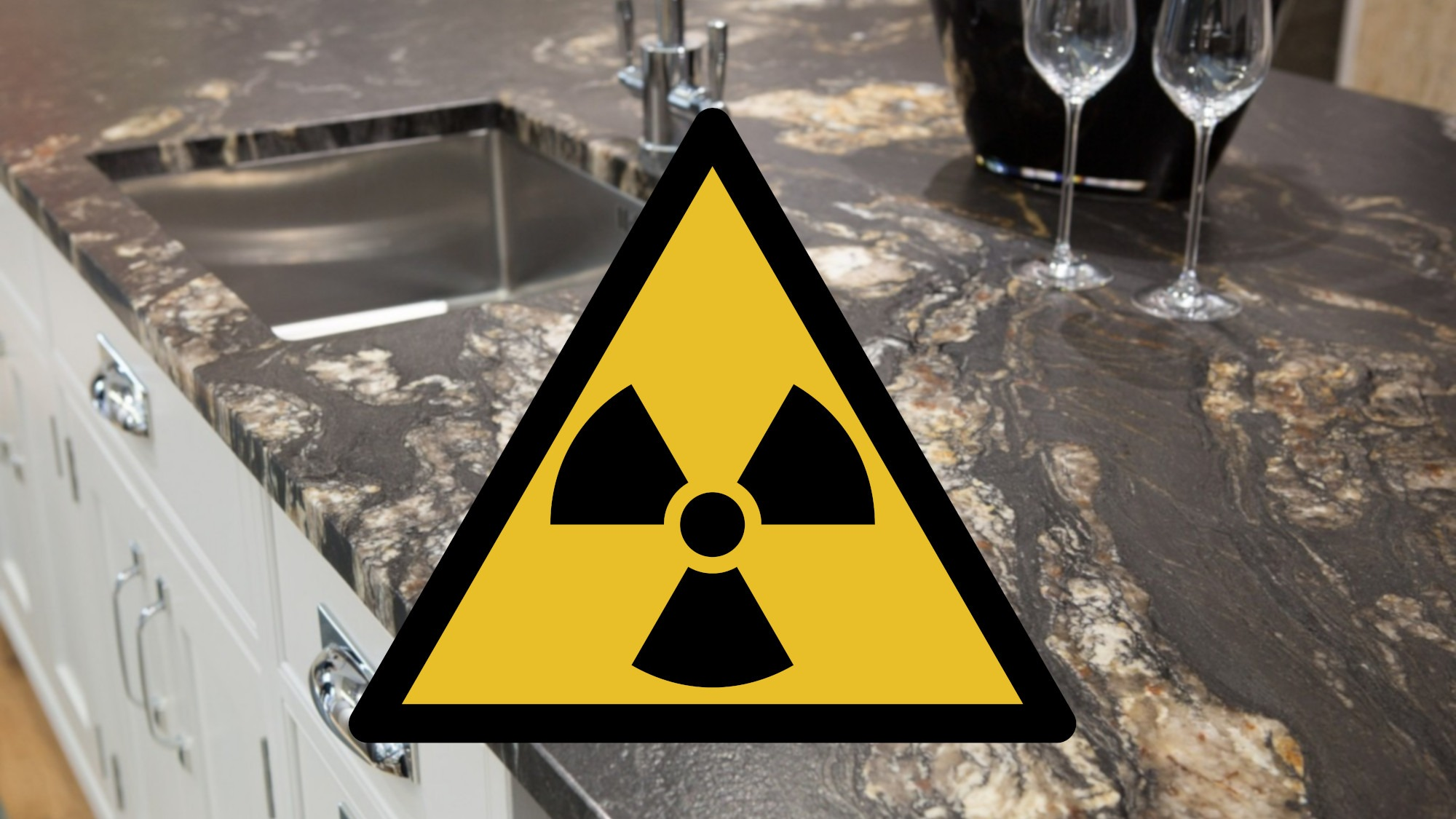 radioactive granite worktops